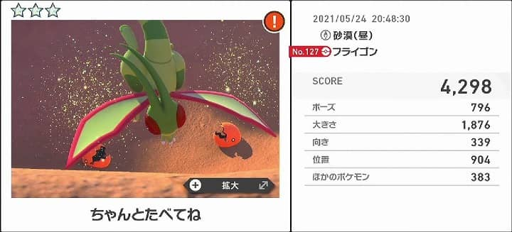 127_フライゴン☆3